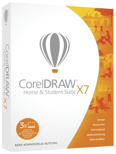 how to use corel draw home and student